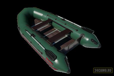 "Лодка ПВХ ""Тайга Nova - 320 Киль"" (2018) (зеленый цвет)"