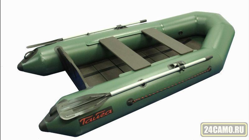 """Лодка ПВХ """"Тайга-270"""" (С-Пб) (цв.СЕРЫЙ) (New)"""