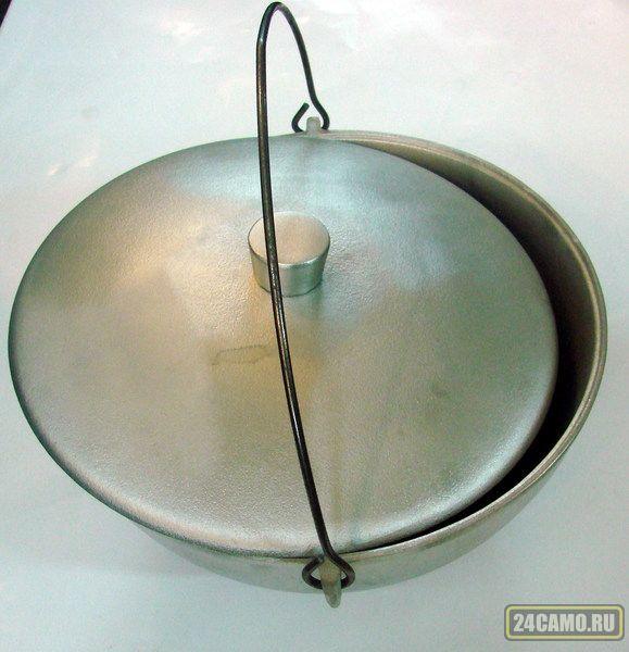 Котелок литой РОСТ 10,0л алюминевый.д.300