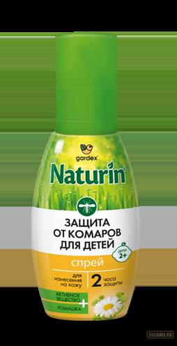 Спрей Gardex Naturin от комаров для детей с 2 лет 75 мл