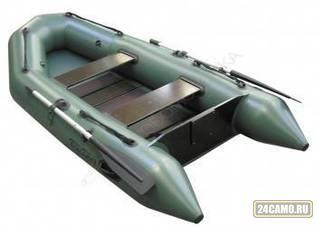 """Лодка ПВХ """"Тундра-325"""" (С-Пб) (цвет зеленый)"""