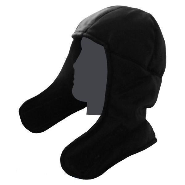 Шлем утепленный (черный) (БК)