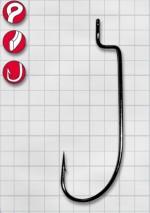 Крючок GAMAKATSU Worm34 (SPR) (BL) №1/0 (6шт.)