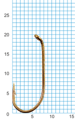 "Крючок SIWEIDA ""SCORPION"" FRENCH HOOK №6BR W/R (10шт.)"
