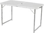 Стол Woodland Family Table Luxe, складной 120x60x70см (алюминий, с отв. под зонт)
