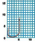 "Крючок SIWEIDA ""SCORPION"" ISEAMA №12BLN W/R (10шт.)"
