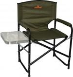 Кресло Woodland Fisherman, складное, кемпинговое, 55 х 47 х 80 см (сталь)