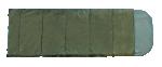 Спальный мешок Woodland CAMPING 200, зеленый