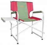 Кресло Woodland Super Max+, складное, усиленное, со столиком 55 x 62 x 63 (83) см (алюминий)