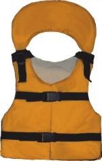 Жилет спасательный VOSTOK с подголовником детский двухсторонний (до 40кг)