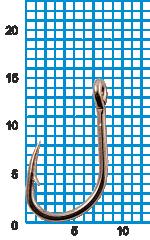 "Крючок SIWEIDA ""SCORPION"" FAULTLESS O'SHAUGHNESSY №6BLN W/R (10шт.)"