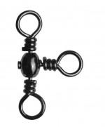 Вертлюг-тройник (brass barrel cross-line swivels) №5 (5шт/уп)