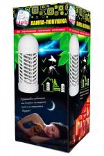 Лампа-ловушка HELP для уничтожения летающих насекомых 220В