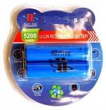 Аккумулятор в блистере 2 шт 18650 5200 mAh 3.7V