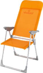 Кресло Woodland Dacha, складное, кемпинговое, 66 х 58 х 118 см (алюминий)