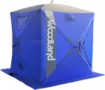 Палатка зимняя WOODLAND ICE FISH 2, 165х165х185см (синий)