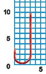 """Крючок SWD """"SCORPION"""" CHIKA №16RED W/R (10шт.)"""