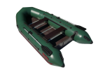 "Лодка ПВХ ""Тайга Nova - 340 Киль"" (2018) (зеленый цвет)"
