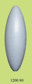 1200 80 Поплавок для дальн. заброса упрощенный (h120/d40) 80г (25шт)