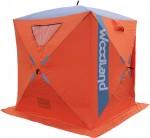 Палатка зимняя WOODLAND ICE FISH 4, 180х180х210 см (оранжевый) NEW