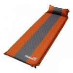 Коврик самонадувающийся HELIOS с подушкой 30-170х65х4 (HS-004Р)