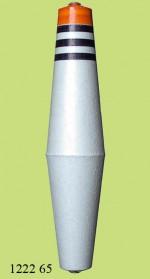1222 Поплавок для дальн. заброса (h155/d30) 65г (25шт)