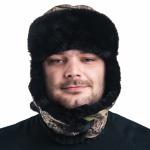 Шапка-монголка меховая смесовая (БК)