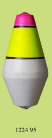 1224 95 Поплавок для дальн. заброса флюор. (h110/d60) 95г (25шт)