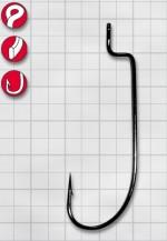 Крючок GAMAKATSU Worm34 (SPR) (BL) №1 (6шт.)