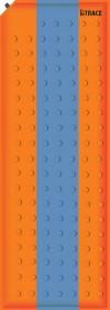Ковер самонадувающийся Basic 2,5,180х50х2,5 см, Оранжевый