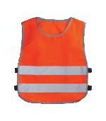 Жилет-накидка сигнальный для водителей, цвет оранжевый ГОСТ 12,4,281-2014