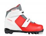"""Ботинки лыжные TREK """"Snowrock"""" (2 ремня) искусственная кожа, NNN"""