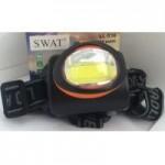 Фонарь налобный SWAT NK-536-B COB