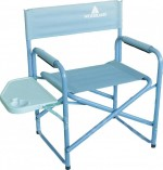 Кресло Woodland Camper Alu +, кемпинговое, со столиком, 80 x 60 x 46 см (алюминий)