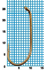 "Крючок SIWEIDA ""SCORPION"" FRENCH HOOK №2BR W/R (10шт.)"