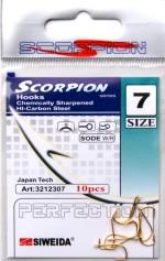 """Крючок SWD """"Scorpion"""" Sode W/R №16 Gold (10шт.)"""
