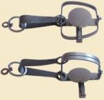 Капкан №1 с цепью (норка,соболь)