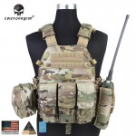 LBT 6094 Emerson Multicam Original с подсумками