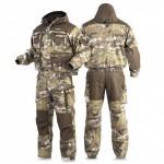 Костюм CARIBOU S03 Brown (куртка укор., брюки с отстег. спинкой+москитная сетка)