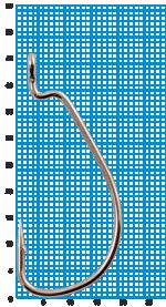 "Крючок SIWEIDA ""SCORPION"" WORM №2/0BLN W/R (3шт.)"