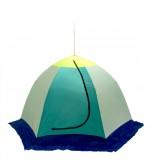 Палатка рыбака ELITE 3-м п/автомат брезент (Стэк)