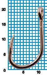 "Крючок SIWEIDA ""SCORPION"" FAULTLESS O'SHAUGHNESSY №1BLN W/R (10шт.)"