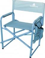 Кресло Woodland Camper Pro Alu, кемпинговое, с органайзером, 80 x 60 x 46 см (алюминий)