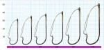 "Крючок-незацепляйка SIWEIDA ""SCORPION"" WEEDLESS №2BLN W/R (5шт.)"