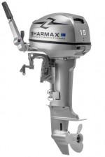 Лодочный мотор 2х-тактный Sharmax SMF15HS (по документам как 9.9)