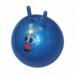 Мяч гимнастич. с рожками INDIGO IR 97401-55 d55см (ПВХ)