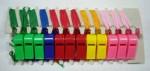 Свисток пластмассовый маленький (24 шт.) (Клифф)