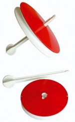 "Кружок рыболовный ""Экстра"" D-135 мм пенопласт, пластик. штырь (Рост)"