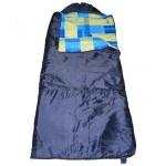 Спальный мешок БАТЫР СОК-2У (180*75) синий (синтепон) Helios