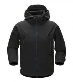 Куртка SoftShell акулья кожа (черный black)